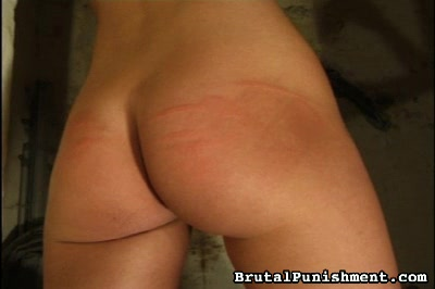 Tanja gets it   in the endthe most severe caning as tanja cries out repeatedly to no avail.